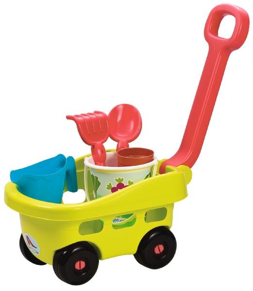 Záhradný vozík s vedierkom a príslušenstvom