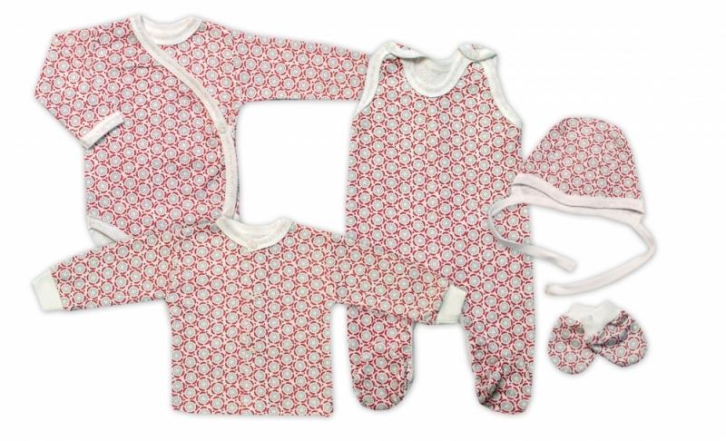 Mamatti Novorodenecká súprava do pôrodnice, biela - Rozeta