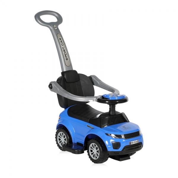 Odrážadlo auto Lorelli s vodicí tyčí BLUE