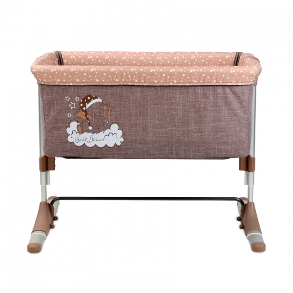 Postieľka Lorelli pre bábätko SLEEP'N'CARE BEIGE ELEPHANT