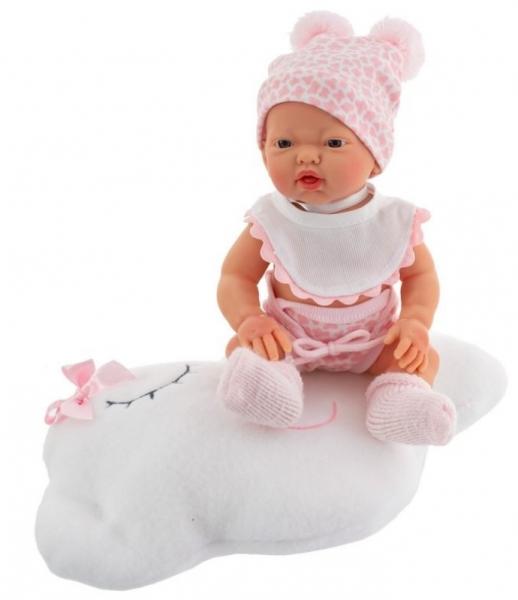 Nines Luxusná bábika Golosinas na mráčiku s vôňou vanilky - 26 cm