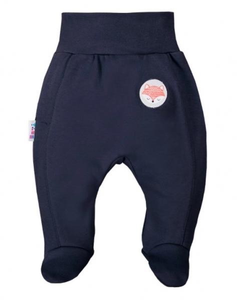 EEVI Dojčenské polodupačky Adventure - Liška, granát, vel. 74-#Velikost koj. oblečení;74 (6-9m)