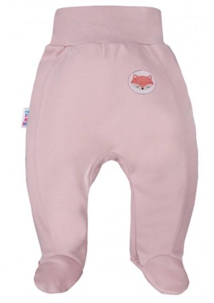 EEVI Dojčenské polodupačky Adventure - Liška, pudrové, veľ. 74-#Velikost koj. oblečení;74 (6-9m)