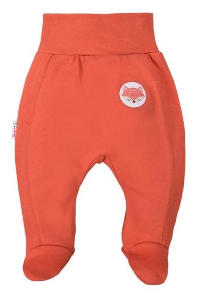 EEVI Dojčenské polodupačky Adventure - Liška, tehlová-#Velikost koj. oblečení;74 (6-9m)