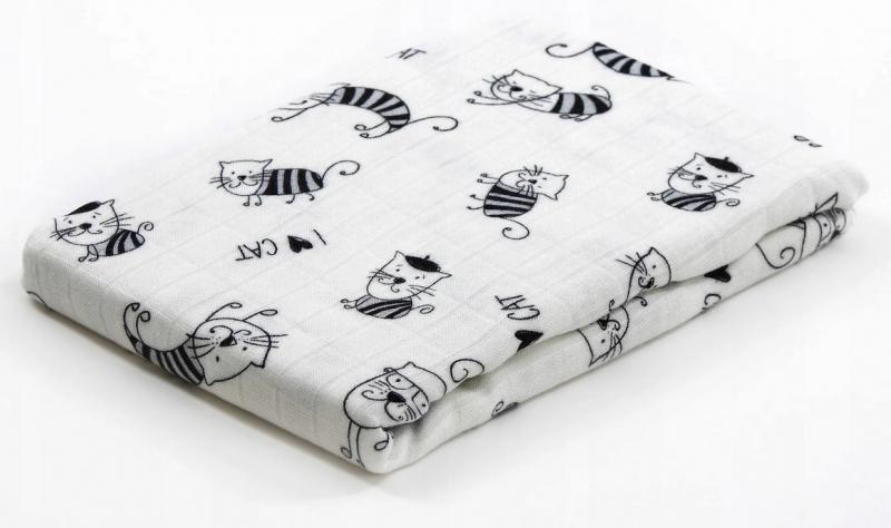 Bambusová plienka Baby Nellys ® - neutrálny vzor, 30 x 35cm