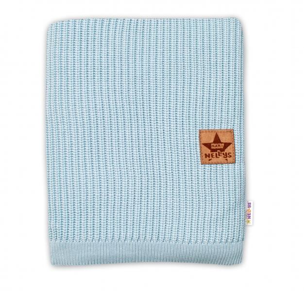 Baby Nellys Luxusná bambusová detská deka, 75x100 cm, mátová