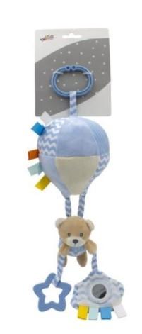 Tulilo Závesná plyšová hračka s rolničkou lietajúci balón - Méďa Teddy