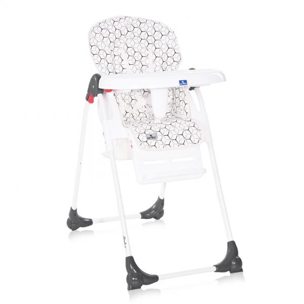 Jedálenská stolička Lorelli DULCE GREY NET