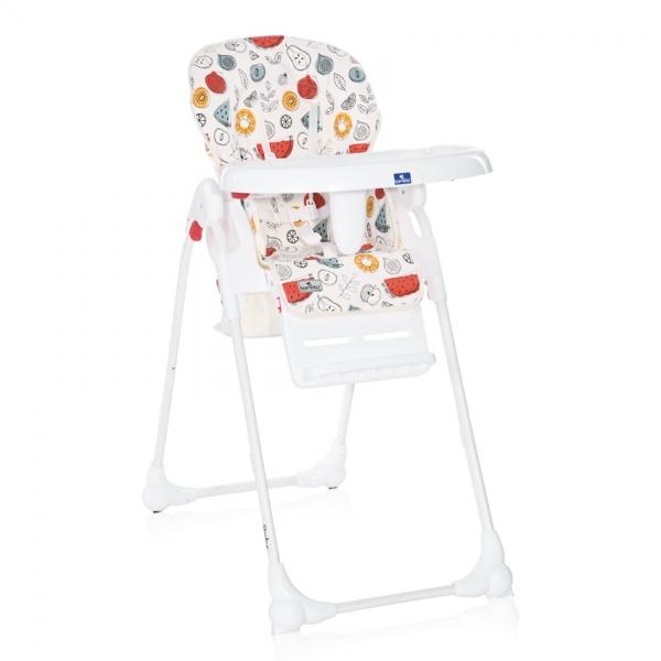 Jedálenská stolička Lorelli DULCE WHITE FRUITS