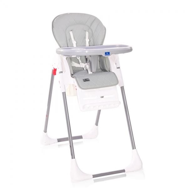 Jedálenská stolička Lorelli COOL GREY LEATHER