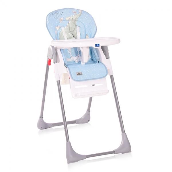 Jedálenská stolička Lorelli CRYSPI TENDER BLUE FUN