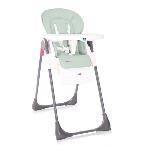 Jedálenská stolička Lorelli CRYSPI FROSTY GREEN LEATHER