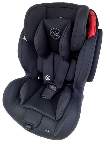 Coto Baby Autosedačka 9-36kg Salsa Pro Isofix- Black/Melagne - 2021