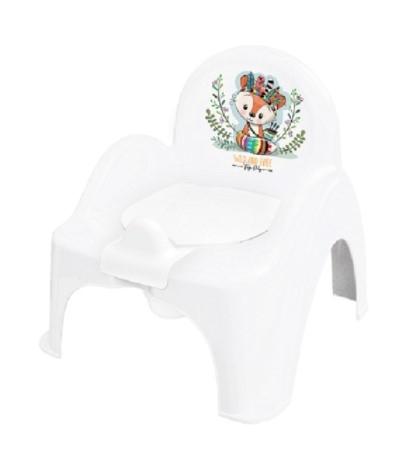 Tega Baby Nočník / stolička Liška  - biely