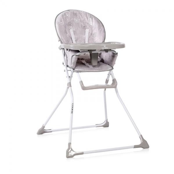 Jedálenská stolička Lorelli COOKIE GREY DANDELIONS