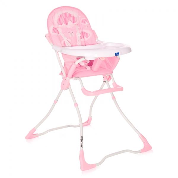 Jedálenská stolička Marcel, pink Hearts