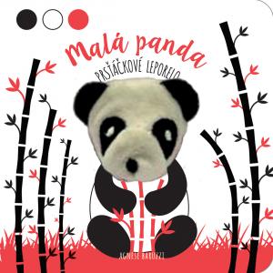Malá panda - prsťáčkové leporelo  Poznávaj dotykom - Na vidieku