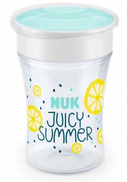 Hrnček NUK Magic Cup 230 ml - Fruits - žltý