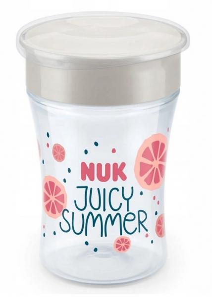 Hrnček NUK Magic Cup 230 ml - Fruits - ružová