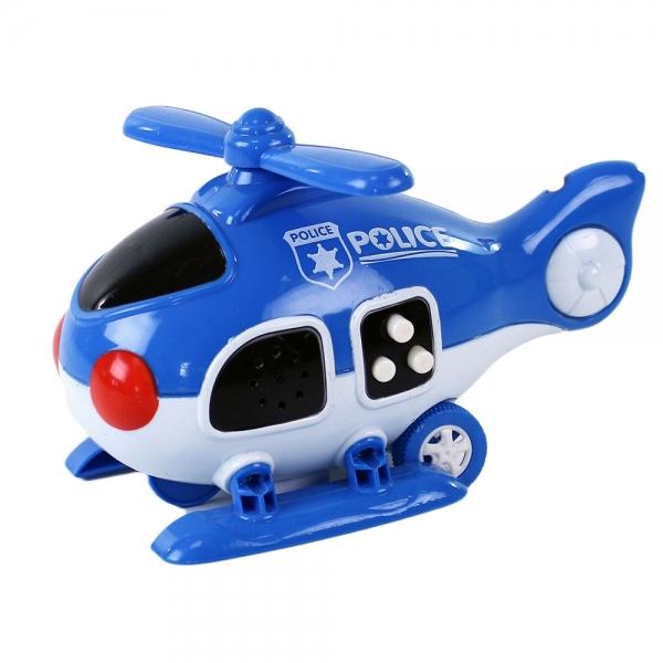Helikoptéra polícia so zvukom a svetlom