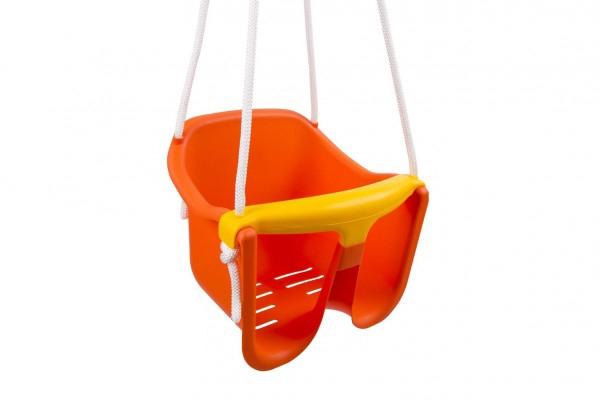 BABY hojdačka oranžová pre najmenších