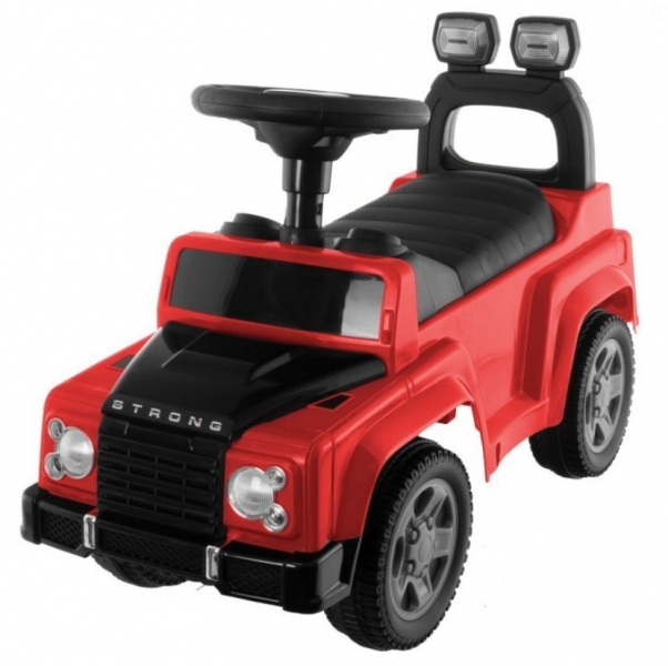 Tulimi - odstrkovadlo, odrážadlo Sport Car - červené