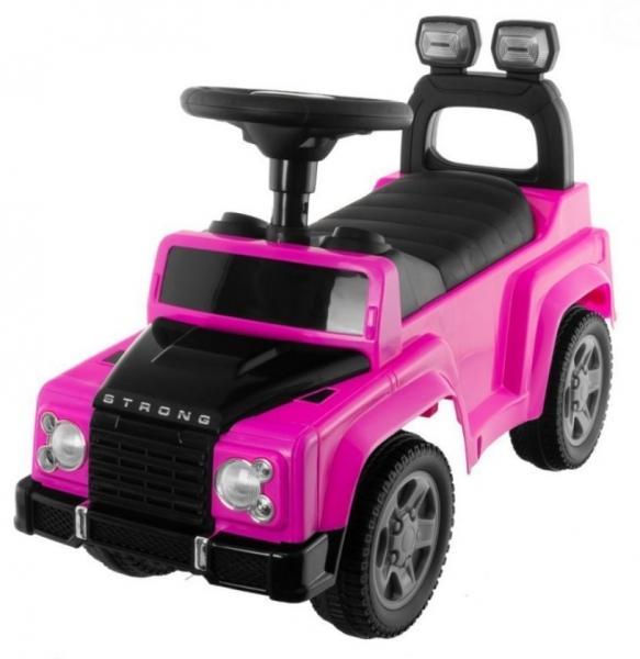 Tulimi - odstrkovadlo, odrážadlo Sport Car - ružové
