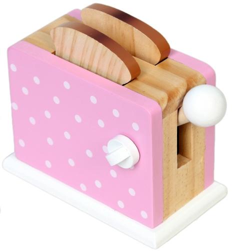 Magni Detská drevená hračka Hriankovač - ružový