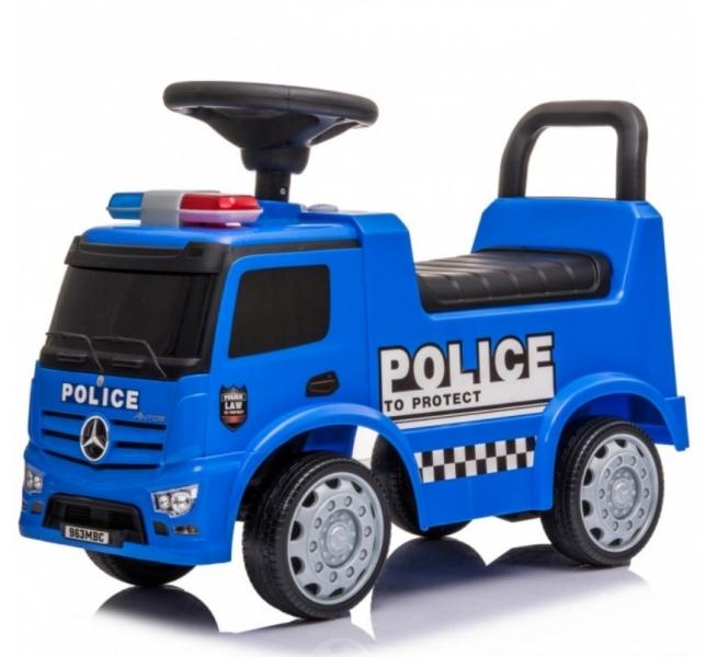 Tulimi Jezdítko, odrážadlo Mercedes - Policia - modré