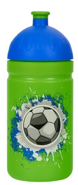 R & B Mědílek s.r.o. Zdravá fľaša - 0.5l - Futbal, zelená