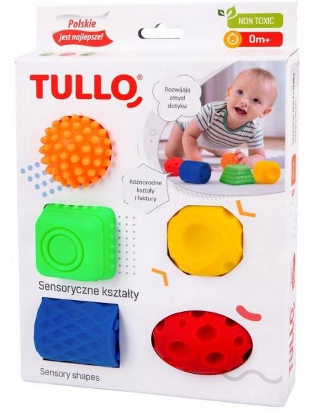 TULLO Edukačné farebné loptičky , 5ks v krabičke, Valeček