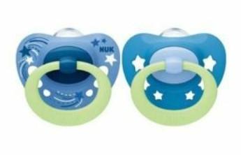 NUK Cumlík Signature Night Hviezdy, 6-18 m - modrá