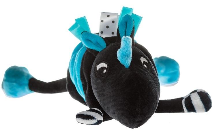 Hencz Toys Vibrujúci přítulníček Jednorožec - modrý