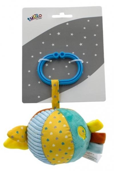 Tulilo Závesná plyšová loptička s balónikom, 8 cm