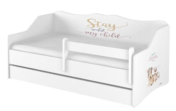 Babyboo Detská posteľ LULU 160 x 80 - Sweet Dreams