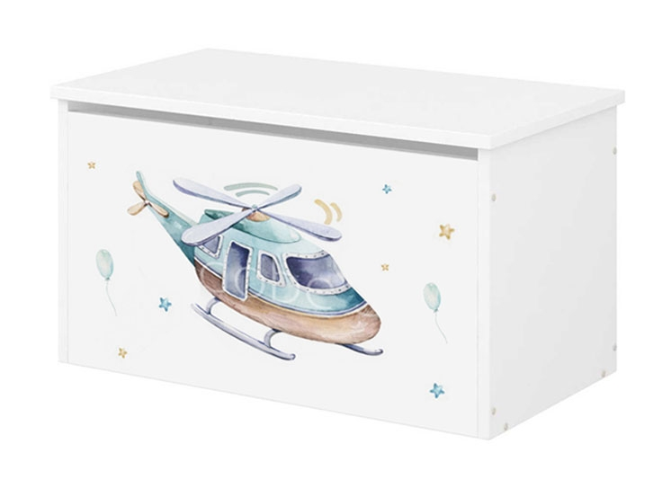 Babyboo Box na hračky s motívom Lietadlo