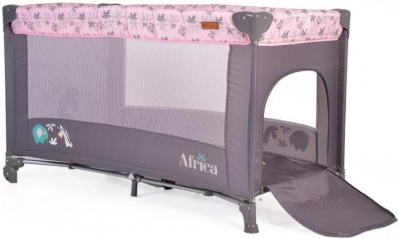 Cangaroo Detská ohrádka Africa, ružová