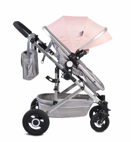 Moni Detský športový kočík 2v1, Ciara 2021 - pink