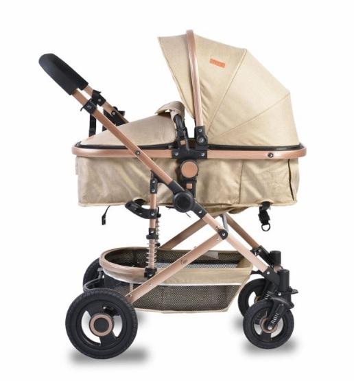 Moni Detský športový kočík 2v1, Ciara 2021 - beige