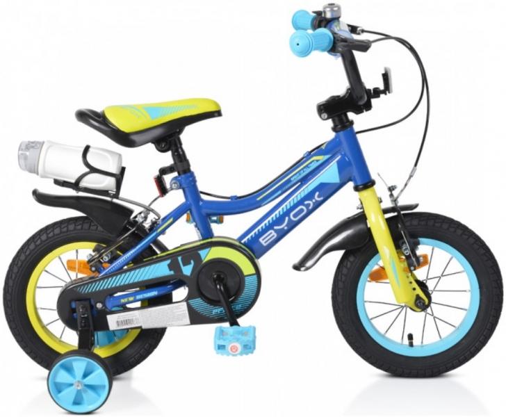 Byox Detský bicykel Prince 12, modré