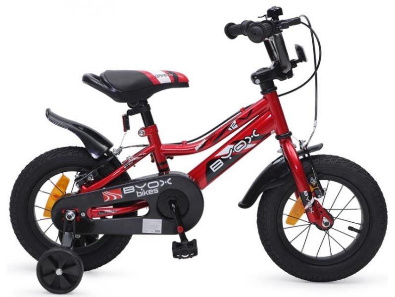 Byox Detský bicykel Prince 12, červené