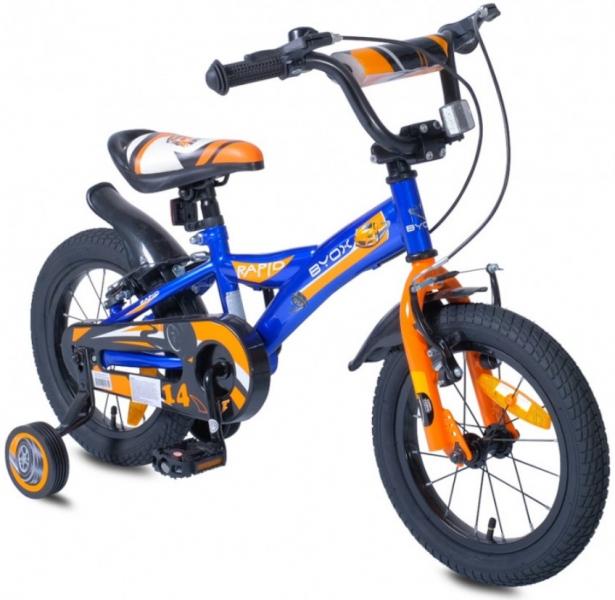 Byox Detský bicykel Rapid 14, modré