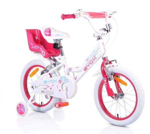 Byox Detský bicykel Devil 16, biele
