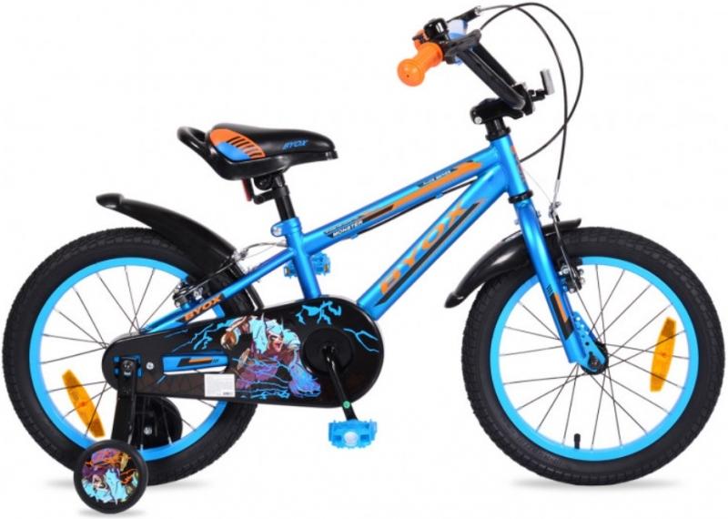 Byox Detský bicykel Monster 16, modré