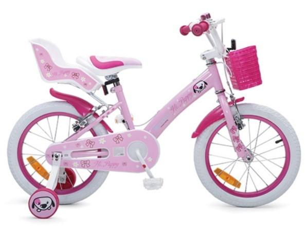 Byox Detský bicykel Puppy 16, ružová