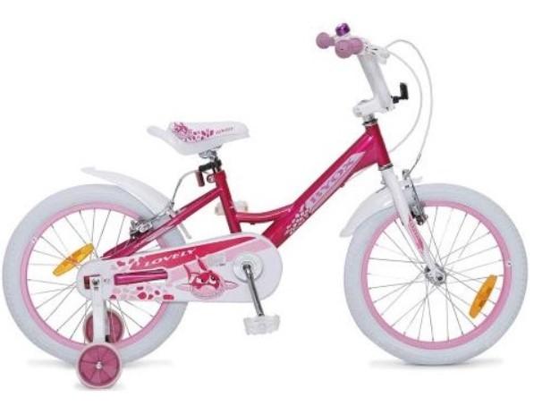 Byox Detský bicykel Lovely 18, ružová