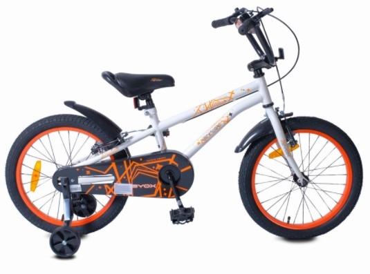 Byox Detský bicykel Pixy 18, biele