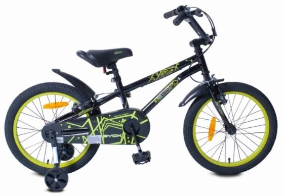 Byox Detský bicykel Pixy 18, čierne