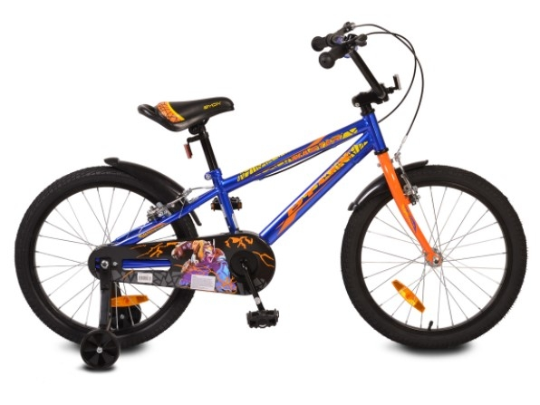 """Byox Detský bicykel Master Prince 20"""", modré"""