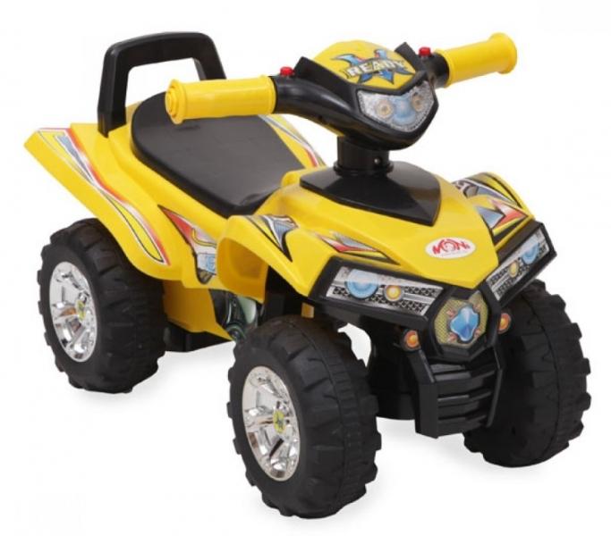 Moni Detské odrážadlo, odrážadlo ATV 551 - žlté